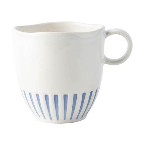 Juliska  Sitio Stripe Mug Indigo $32.00