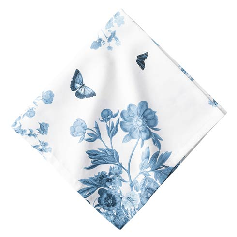 $15.00 Field of Flowers Chambray Napkin