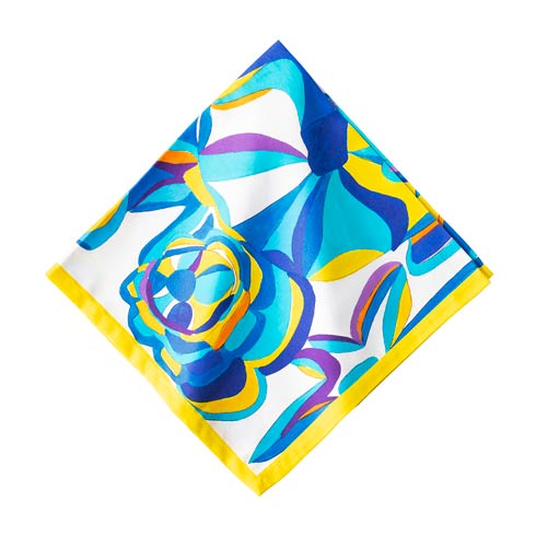 $18.00 Blue Rose Napkin