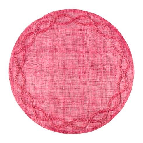$18.00 Tuileries Garden Pink Placemat