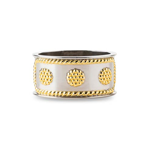 $25.00 Berry & Thread Gold/Silver Napkin Ring