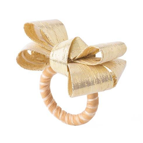 $25.00 Tuxedo Gold Napkin Ring