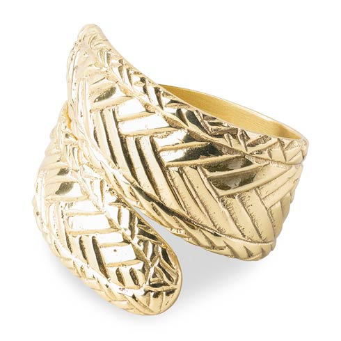 $25.00 Le Panier Gold Napkin Ring