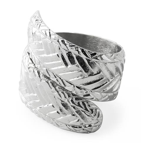 $25.00 Le Panier Nickel Napkin Ring