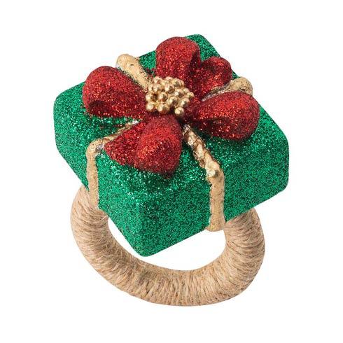 $98.00 Berry & Thread Present Napkin Ring - Set/4