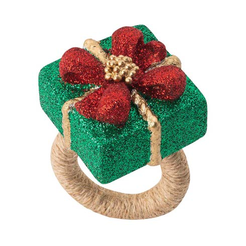 $98.00 Berry & Thread Present Napkin Ring - Set/4