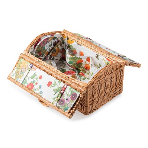 $495.00 Field of Flowers Picnic Basket - w/ FOF