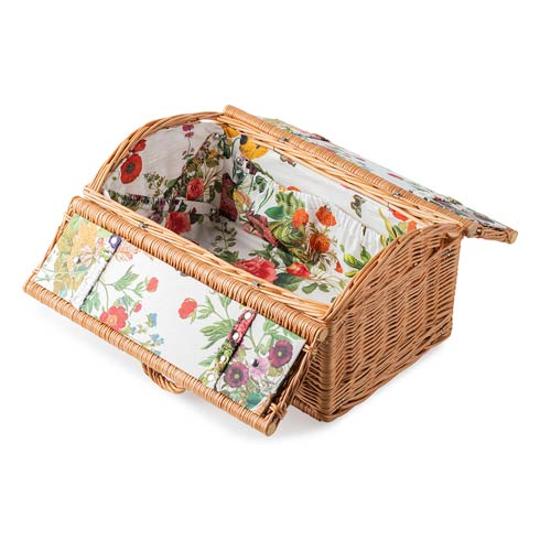 Field of Flowers Picnic Basket image