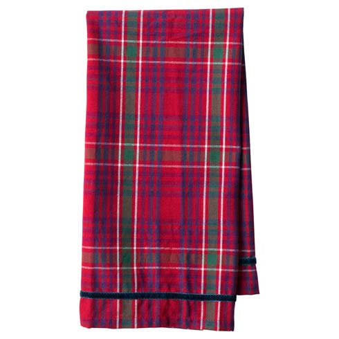 $20.00 Red Tartan Tea Towel
