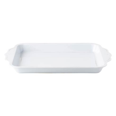 "Juliska  Melamine Berry & Thread Melamine Whitewash 24"" Handled Tray Melamine $79.00"