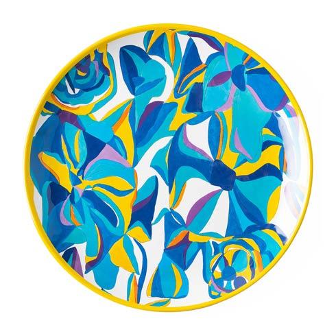 $20.00 Blue Rose Dinner Plate
