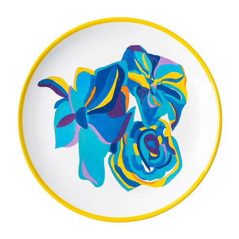$18.00 Blue Rose Dessert/Salad Plate