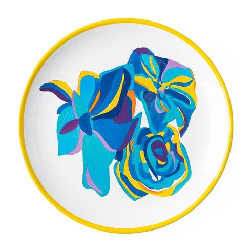 Juliska  Melamine Blue Rose Dessert/Salad Plate $18.00