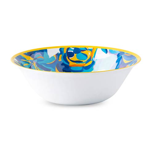 $48.00 Blue Rose Serving Bowl