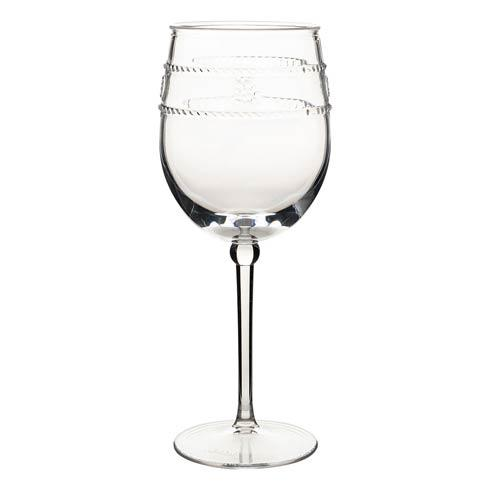 Juliska  Isabella Acrylic Wine Glass $22.00