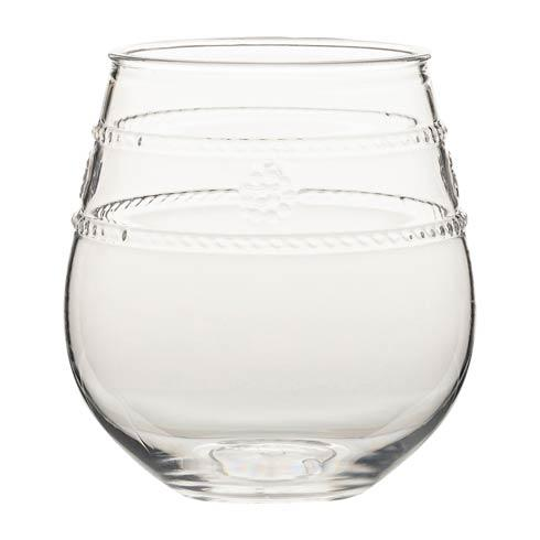 Juliska  Isabella Acrylic Stemless Wine Glass $15.00