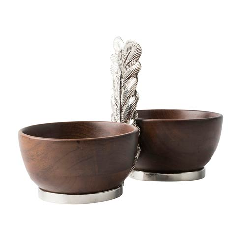 Juliska  Merriam 2 Bowl Server $135.00