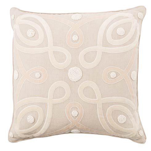"Berry & Thread Natural 22"" Pillow"