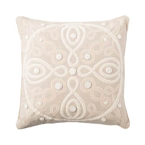 "$148.00 Berry & Thread Natural 18""  Pillow"