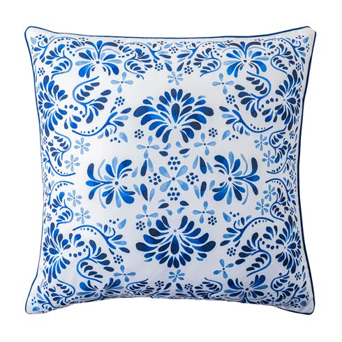 "$98.00 Iberian Journey Indigo 22"" Pillow"
