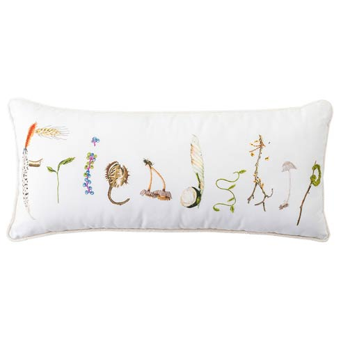 "$125.00 Forest Walk  Friendship 12"" x 27"" Pillow"