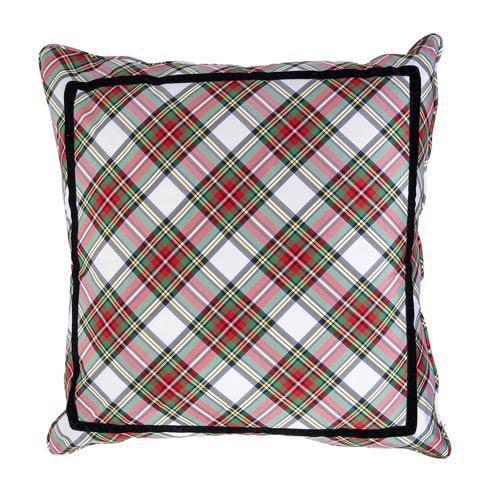 """$235.00 Stewart Tartan 22"""" Pillow"""