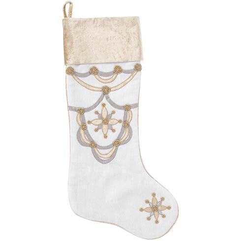 $75.00 Berry & Thread Gold & Silver Stocking