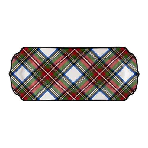 Juliska  Stewart Tartan Hostess Tray $58.00