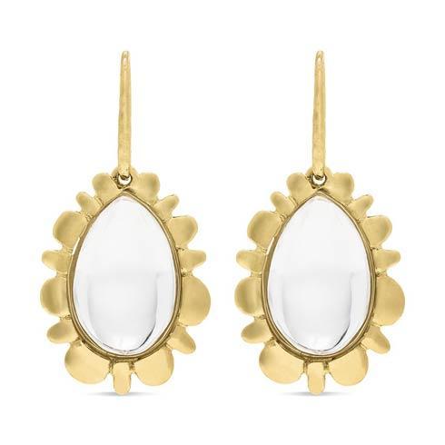 $275.00 Bliss Drop Earrings, Clear Quartz