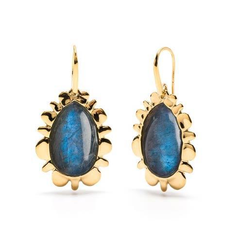 $275.00 Bliss Drop Earrings, Midnight Blue