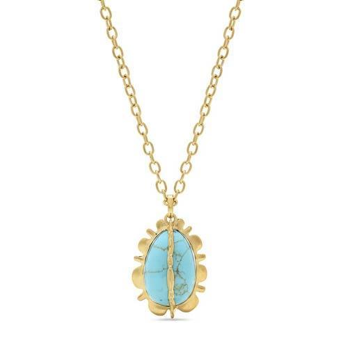 $395.00 Bliss Pendant, Turquoise