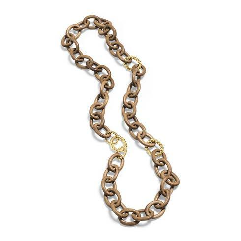$495.00 Chain Necklace, Teak