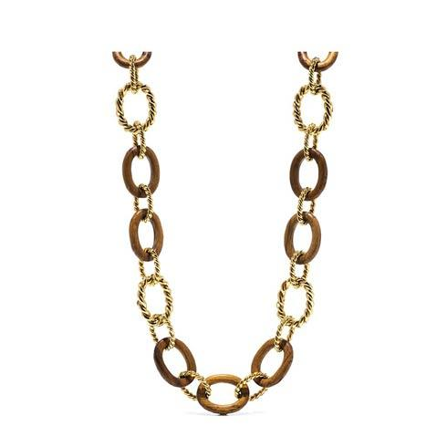 $475.00 Link Necklace, Teak