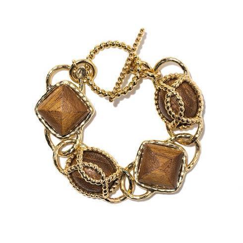 "$175.00 Teak 7"" Bracelet"