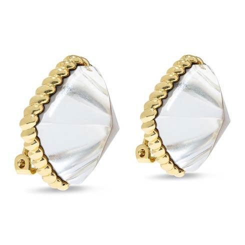 $125.00 Ice Clip Earrings