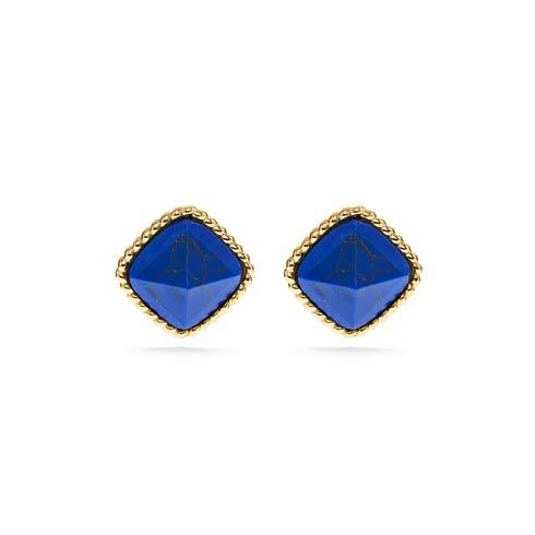 $135.00 Post Earrings, Lapis