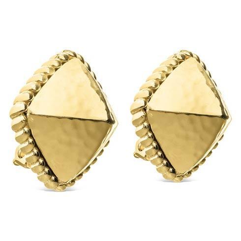 $125.00 Gold Clip Earrings