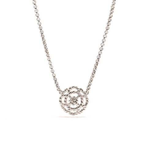 $120.00 Petite Charm Necklace, Silver