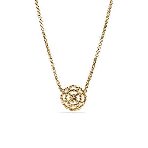 $135.00 Petite Charm Necklace, Gold