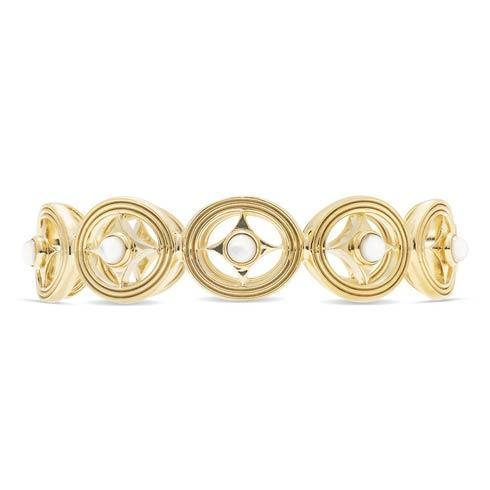 $395.00 Hinged Bangle, Mother of Pearl