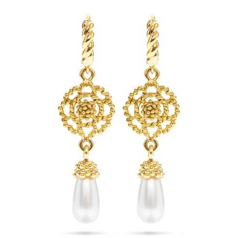 $165.00 Drop Earrings, Pearl