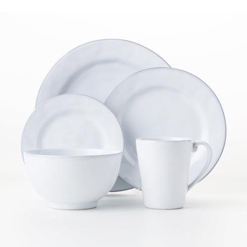 $132.00 5pc Place Setting (Dinner, Salad, Side/Cocktail, Cereal/Ice Cream Bowl, Mug)