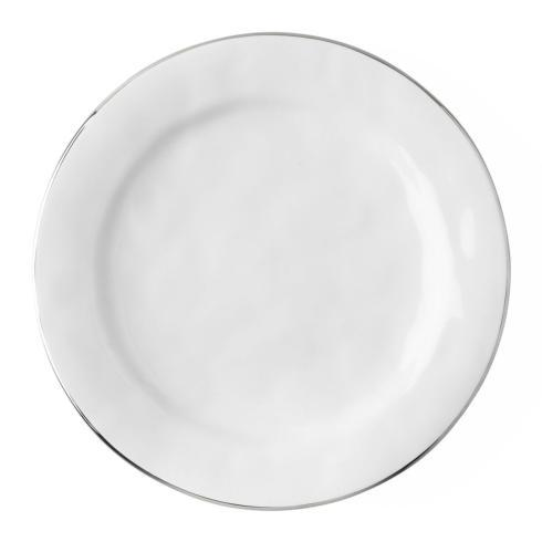 $45.00 Dinner Plate with Platinum Rim
