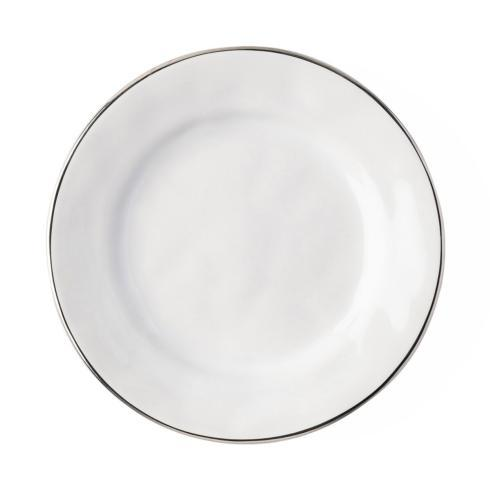 $28.00 Side/Cocktail Plate with Platinum Rim