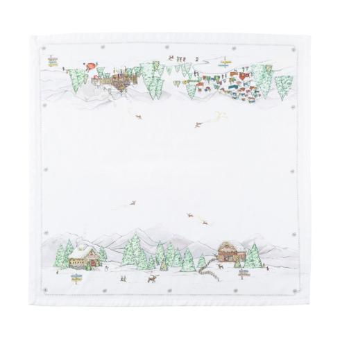 $15.00 Berry & Thread North Pole Napkin
