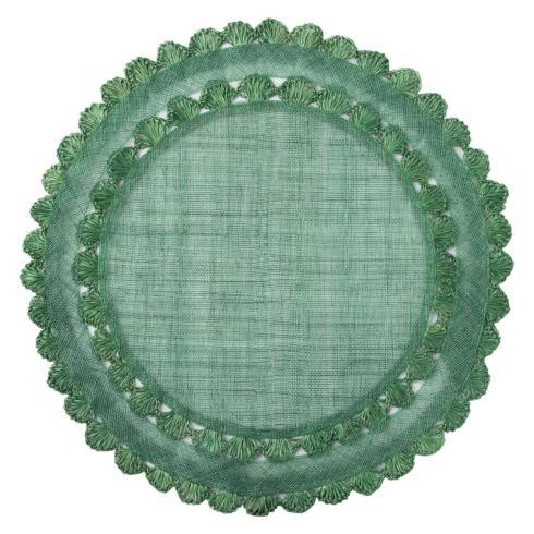 $35.00 Isadora Evergreen Placemat