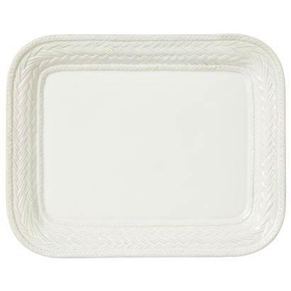 """Juliska Le Panier Whitewash 14.5"""" Platter $98.00"""