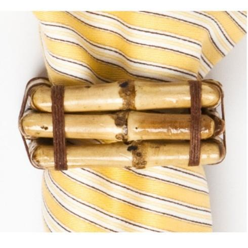 Juliska Linens Napkin Rings Bamboo Natural Napkin Ring $25.00
