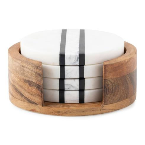 Juliska  Stonewood Stripe Coaster Set $150.00
