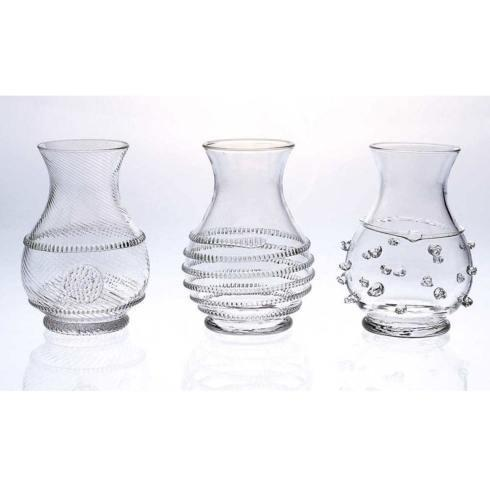 Juliska  Mini Vase Trio